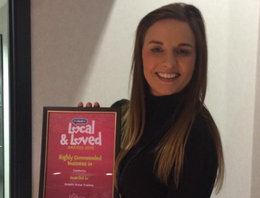 Knights Training Academy wins local business award