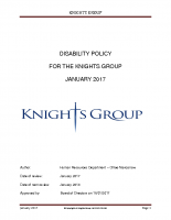 Disability Policy